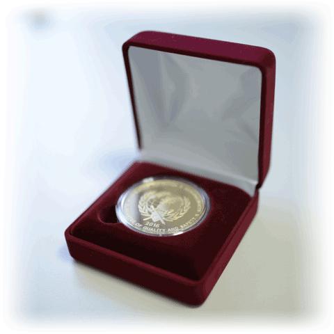 Медаль «Гарантия качества и безопасности»